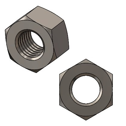 Muttern M4 - A2 DIN 934/ ISO4032/