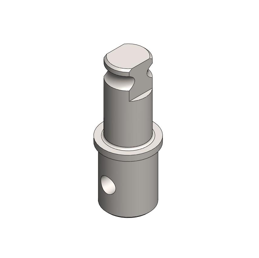 Adapter - Verlängert Rohr 27 x 1,5 gelb-verz.