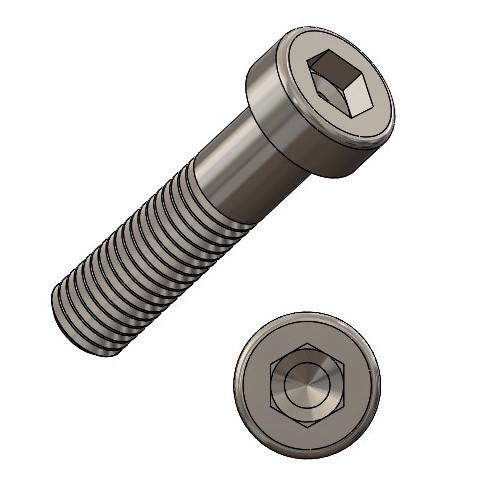 6-kt. Schraube M8x100 verz. DIN 931 / ISO4014