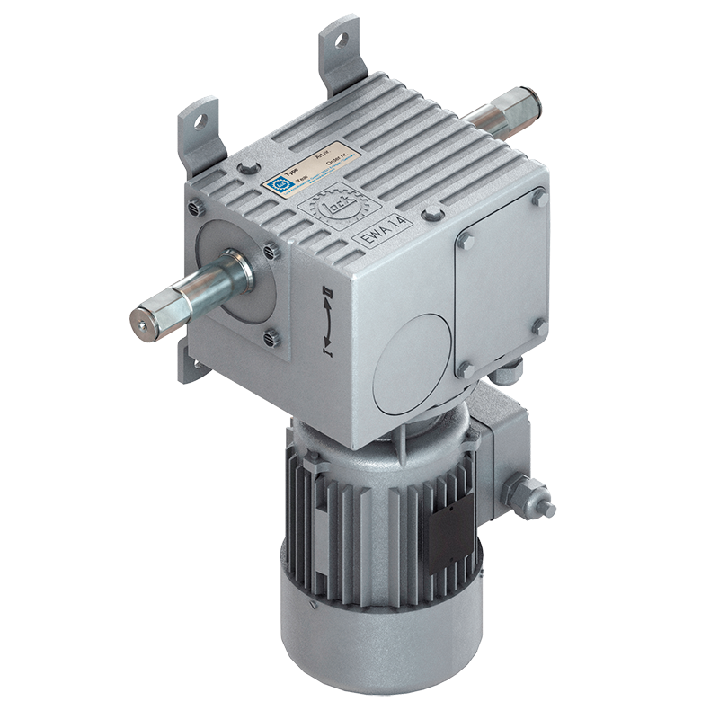 Lock EWA 14.6005 / 600 Nm / 400 V - 4,4 Umdrehungen/Minute - Welle 66 (6-kant)