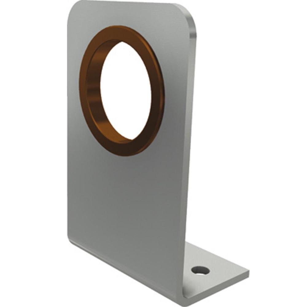 "Alu-Lagerplatte, gewinkelt 1"" - 40 mm"